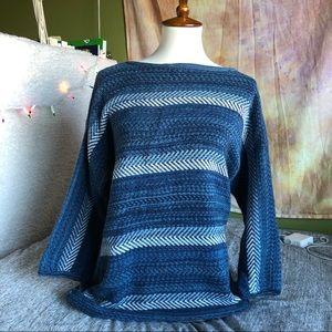 blue authentic vintage sweater